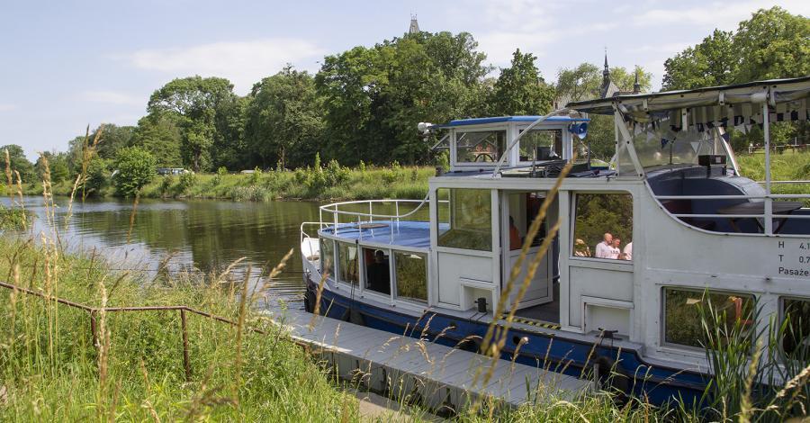 Rejsy statkiem po Kanale Gliwickim - zdjęcie