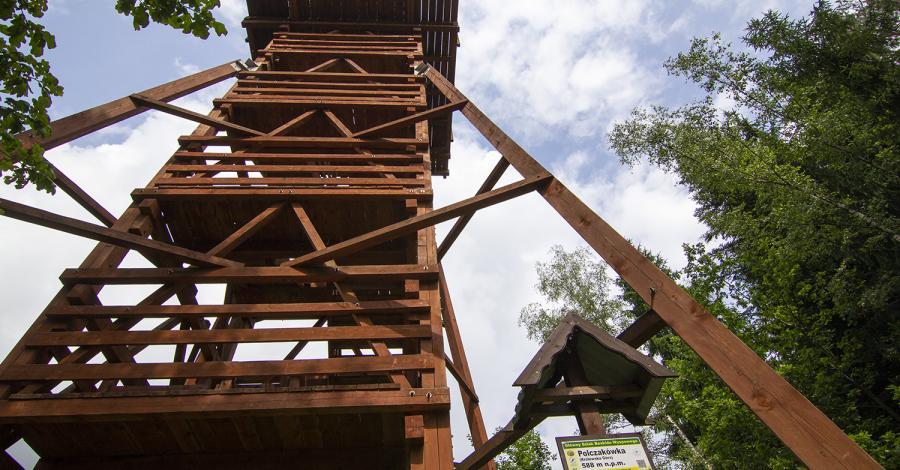 Wieża widokowa Polczakówka w Rabce Zdroju - zdjęcie