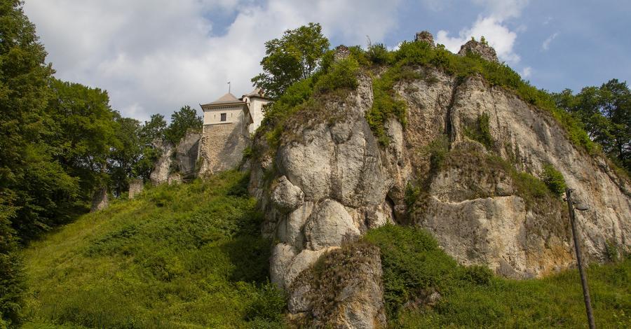 Zamek w Ojcowie - zdjęcie