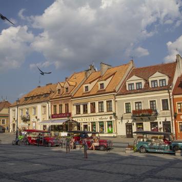 Kamienice mieszczańskie w Sandomierzu