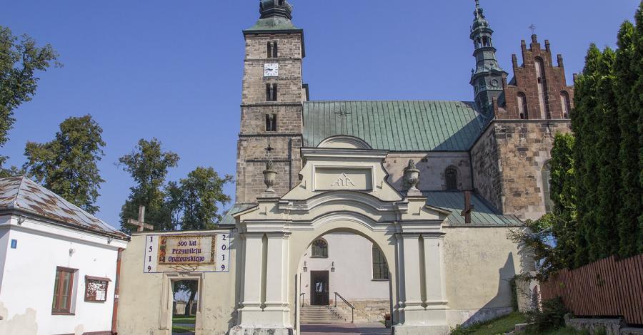 Kolegiata w Opatowie - zdjęcie