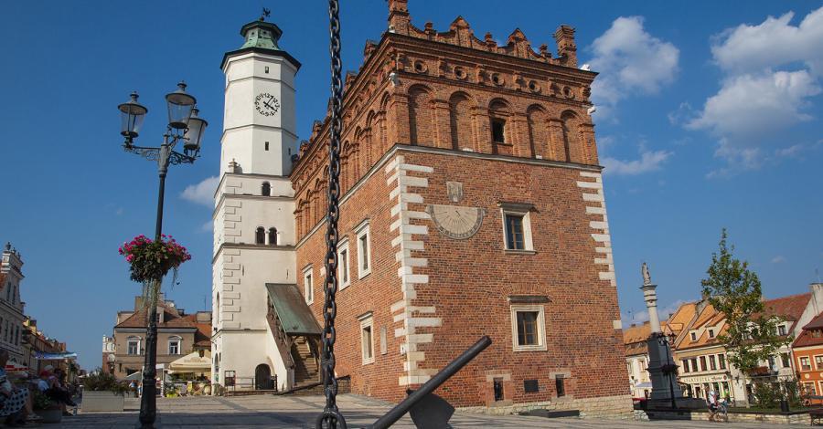 Ratusz w Sandomierzu - zdjęcie