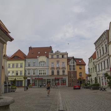 Rynek w Żarach