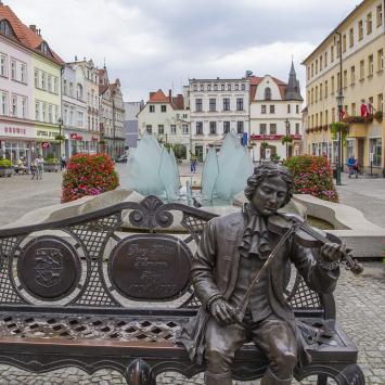 Ławeczka Telemanna w Żarach