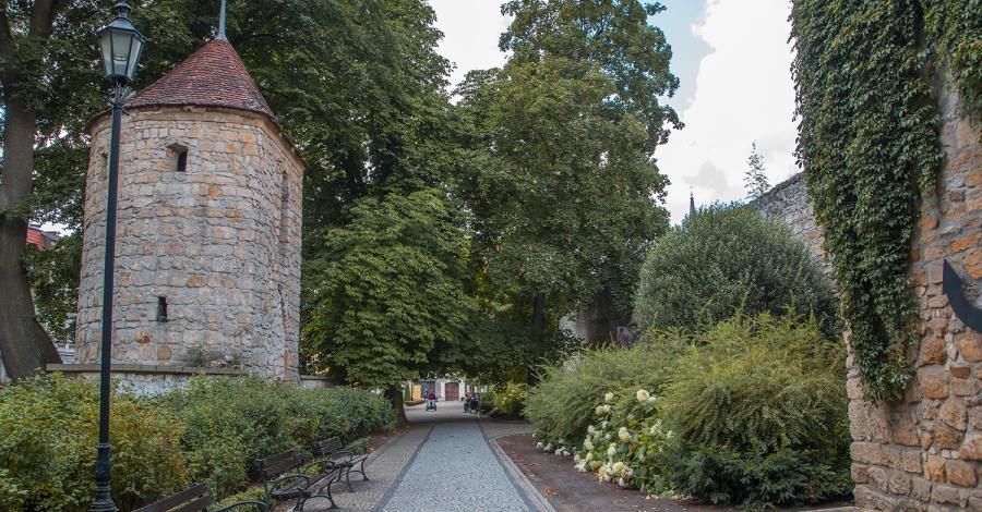 Mury obronne w Bolesławcu - zdjęcie