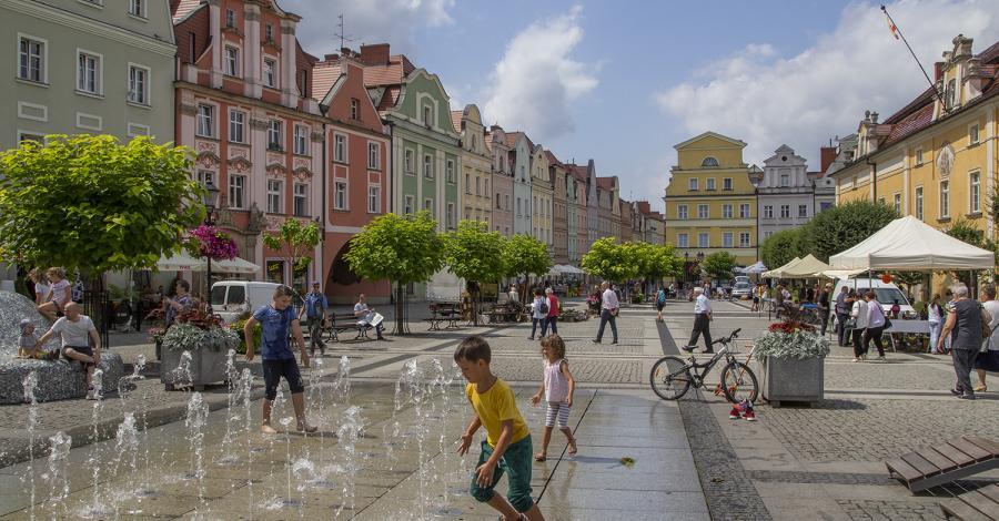 Rynek w Bolesławcu - zdjęcie