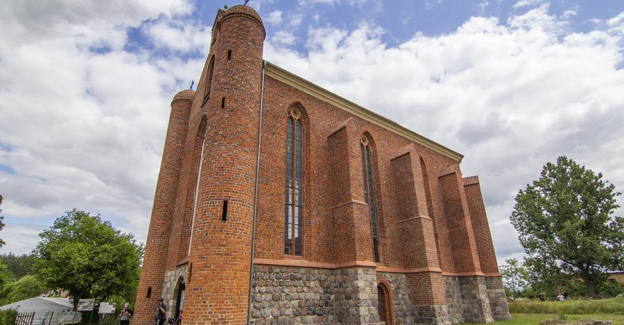 Kaplica Templariuszy w Chwarszczanach - zdjęcie