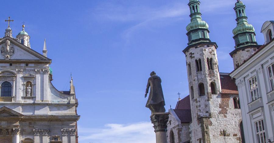 Pomnik Piotra Skargi w Krakowie - zdjęcie
