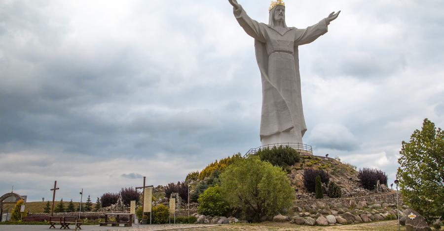 Pomnik Chrystusa Króla w Świebodzinie - zdjęcie