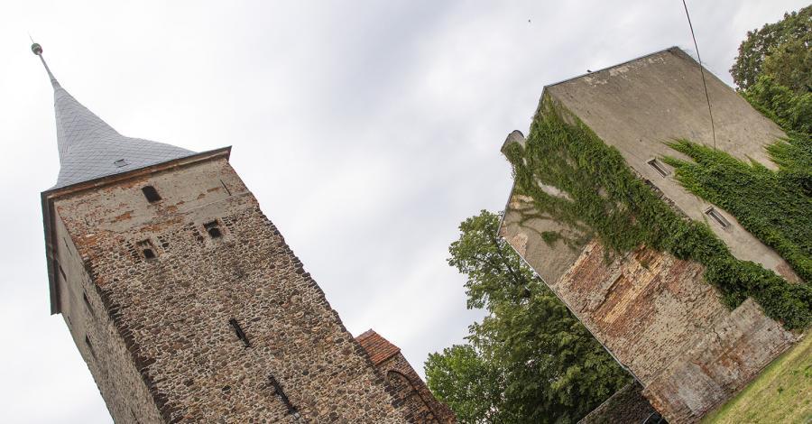 Wieża wartownicza w Żarach - zdjęcie