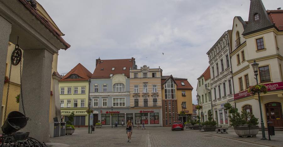 Rynek w Żarach - zdjęcie