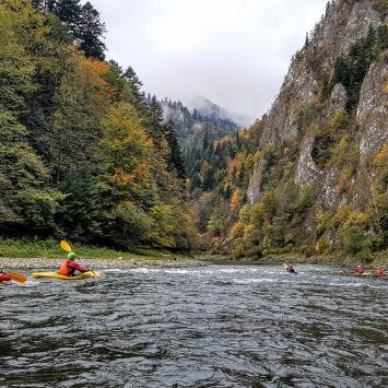 Rafting i kajaki w Pieninach