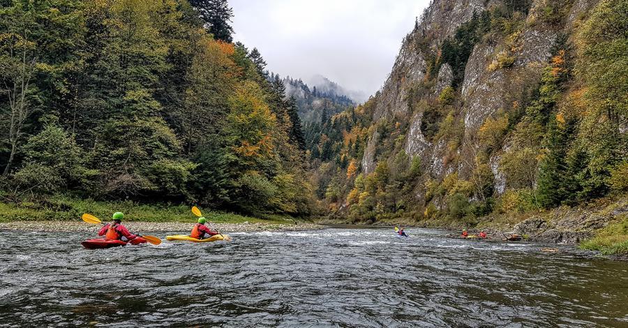Rafting i kajaki w Pieninach - zdjęcie