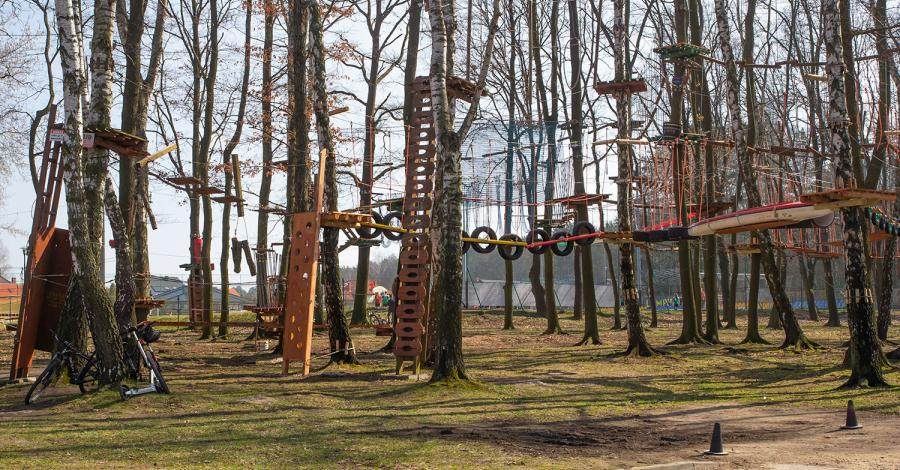 Park Linowy Paprocany - zdjęcie