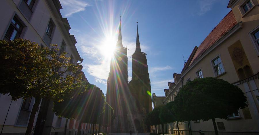 Ostrów Tumski we Wrocławiu - zdjęcie
