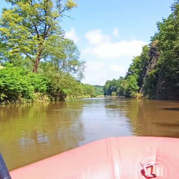 Spływ pontonowy Bardo