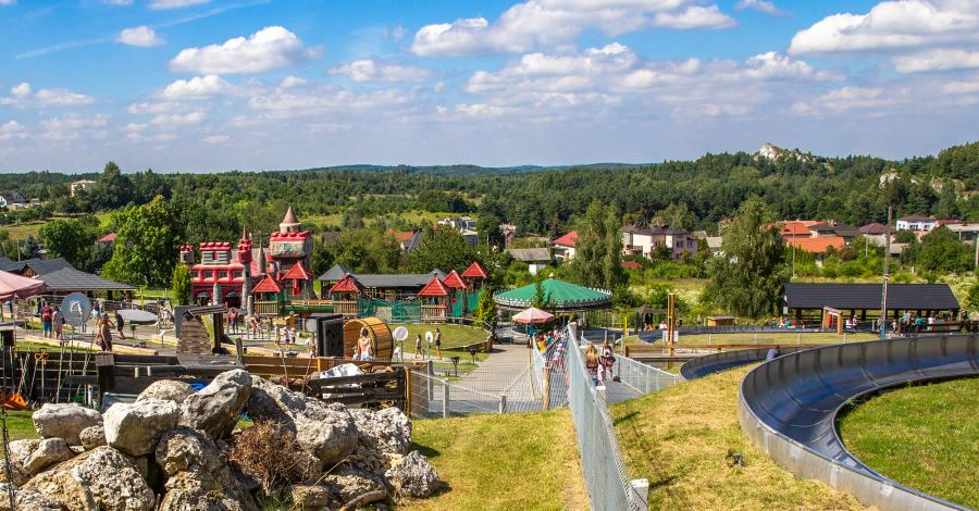 Park Ogrodzieniec - zdjęcie