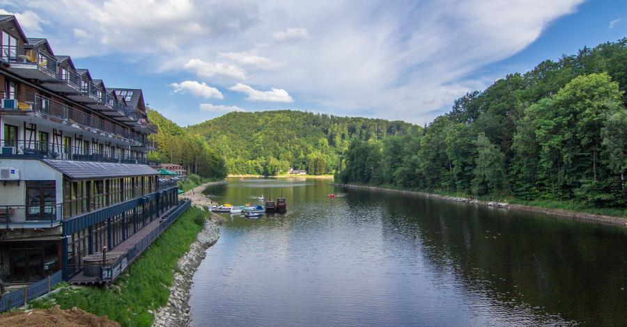Jezioro Bystrzyckie w Zagórzu Śląskim - zdjęcie