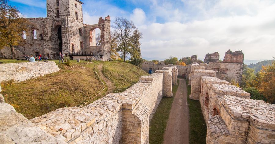 Zamek Tenczyn - zdjęcie