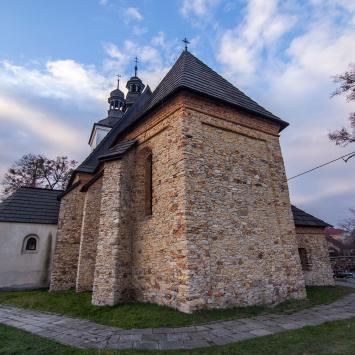 Stary kościół Św. Marcina w Tarnowskich Górach