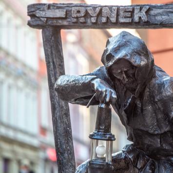 Rzeźby Gwarków w Tarnowskich Górach