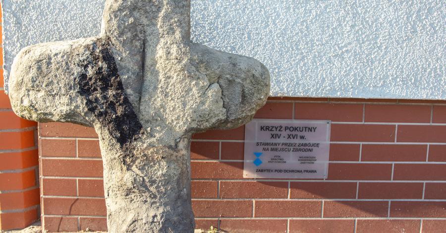 Krzyż pokutny w Rudyszwałdzie - zdjęcie