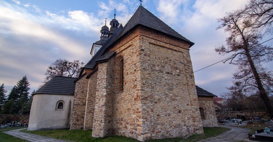 Stary kościół Św. Marcina w Tarnowskich Górach - zdjęcie