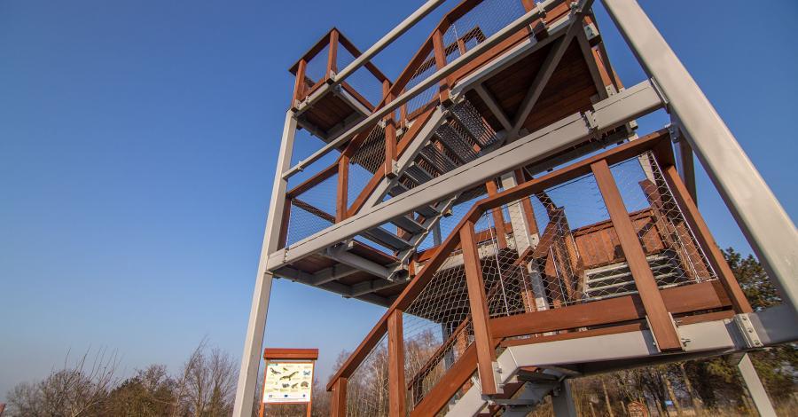 Wieża widokowa w Baborowie - zdjęcie