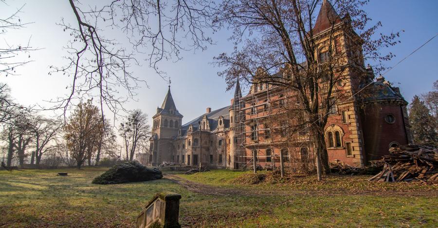 Pałac w Krowiarkach - zdjęcie