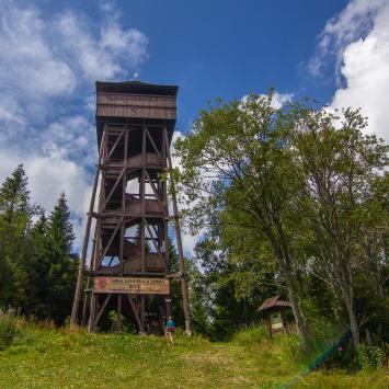 Wieża widokowa na Magurkach