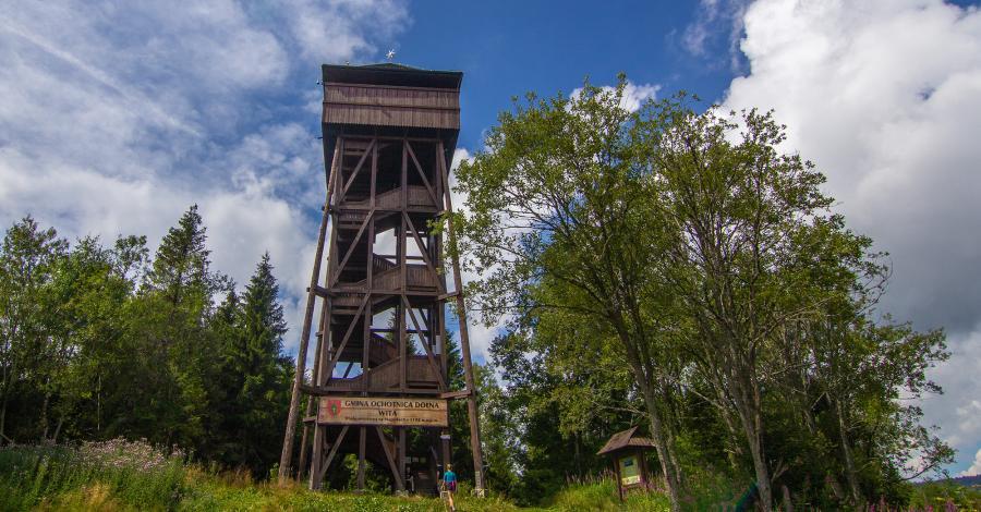 Wieża widokowa na Magurkach - zdjęcie