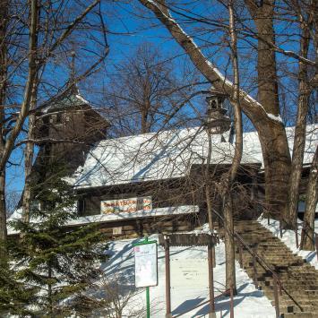 Drewniany kościół w Szczyrku