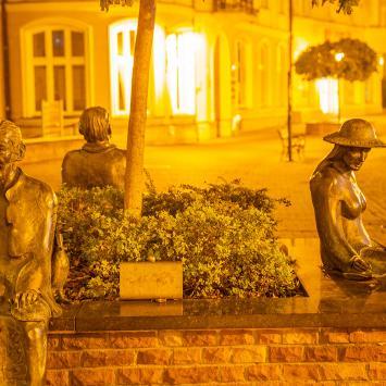Ławeczka Poetów w Tarnowie