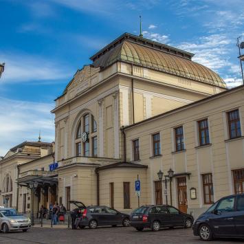 Dworzec w Tarnowie