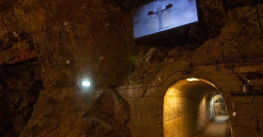 Podziemia zamku Książ - zdjęcie