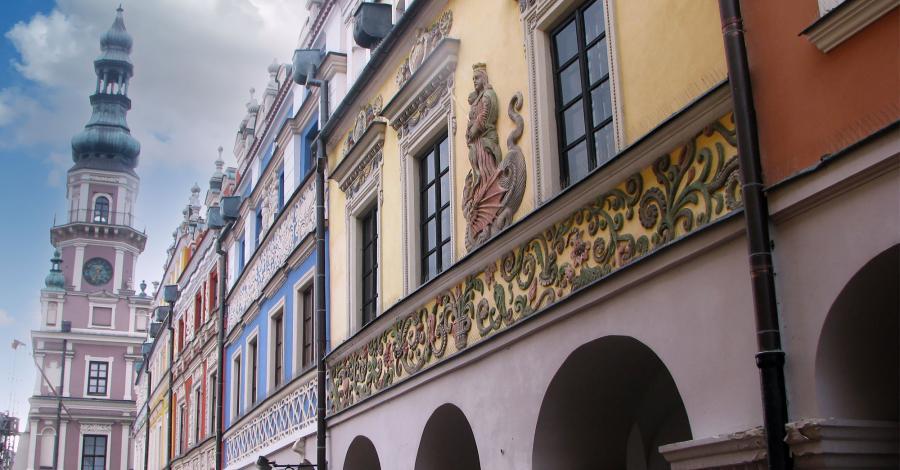 Rynek w Zamościu - zdjęcie