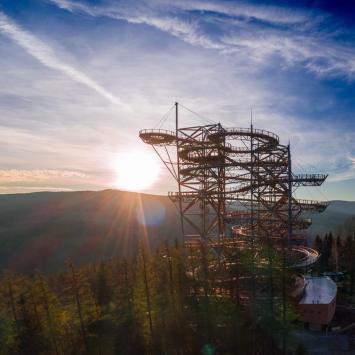 Wieża Sky Walk w Świeradowie Zdroju