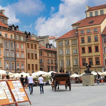 Rynek w Warszawie