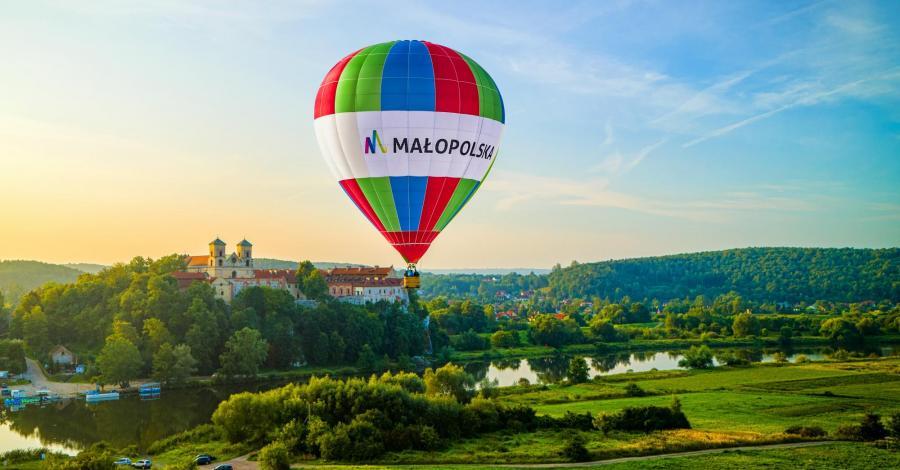 Lot balonem w Małopolsce - zdjęcie