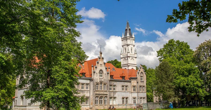 Pałac w Nakle Śląskim - zdjęcie