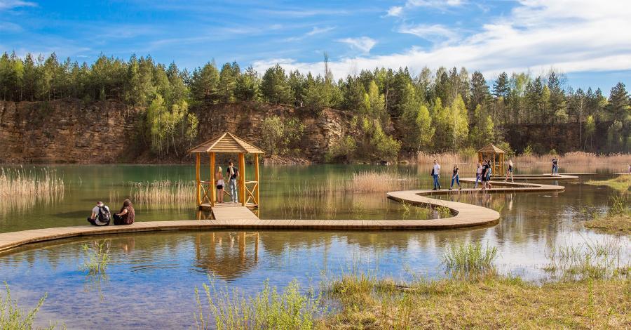 Park Gródek w Jaworznie - zdjęcie