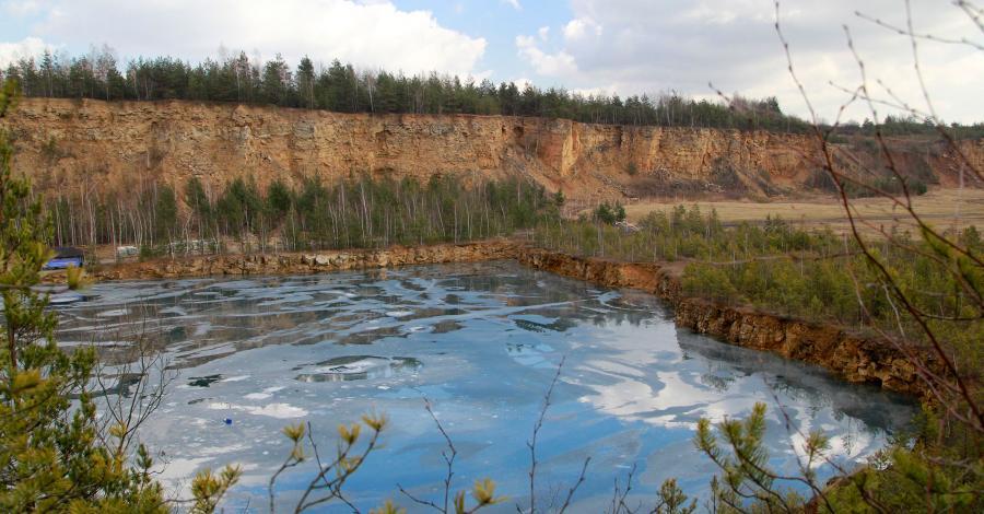 Kamieniołom Koparki w Jaworznie - zdjęcie