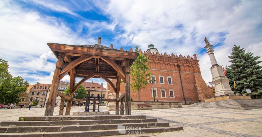Rynek w Sandomierzu - zdjęcie