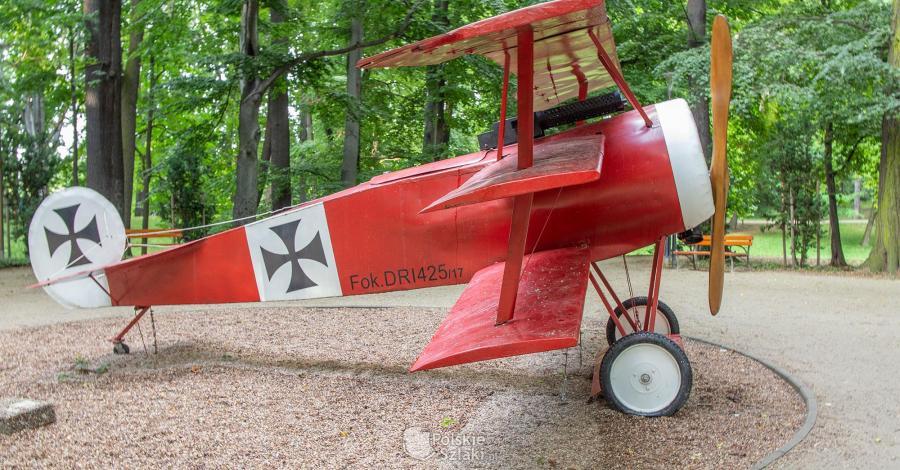 Samolot Czerwonego Barona w Świdnicy - zdjęcie