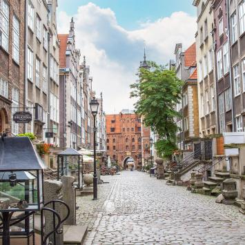 Ulica Mariacka w Gdańsku