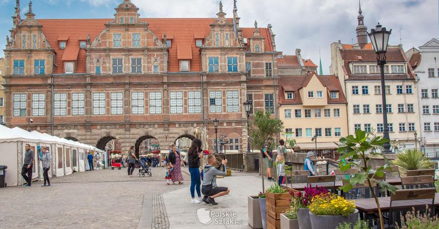 Zielona Brama w Gdańsku - zdjęcie