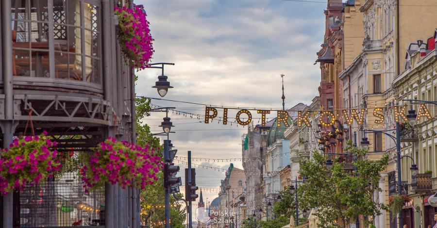 Ulica Piotrkowska w Łodzi - zdjęcie