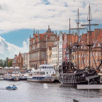 Rejsy galeonem w Gdańsku