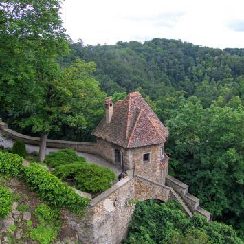 Baszta Prochowa na zamku Książ