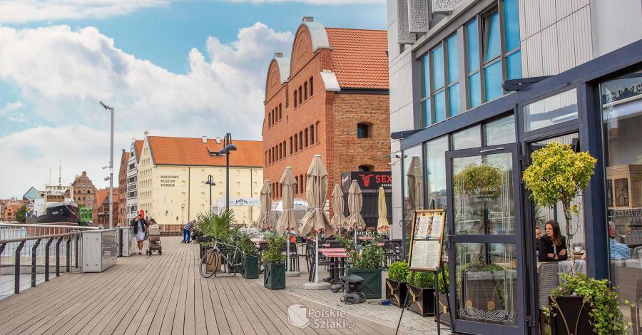 Wyspa Spichrzów w Gdańsku - zdjęcie